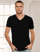 Unisex Jersey Short Sleeve V-Neck Tee